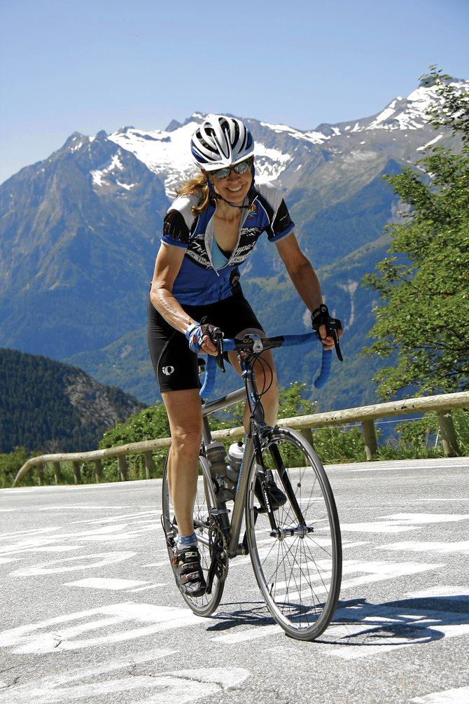 Johanna Hall is a Steamboat Springs biking enthusiast and a member of Routt County Riders bicycle club.