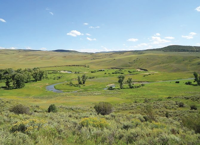 The conserved Elkhead and Agner Mountain ranches, which are operated as one unit by two different owners, are about 15 miles north of Hayden in the foothills of the Elkhead Mountains.