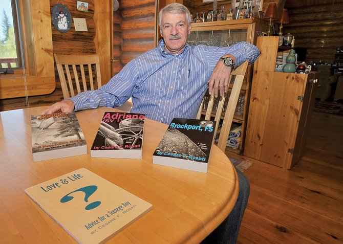 "Cesare Rosati, a 16-year Steamboat resident, is in the midst of publishing and releasing his five-part science fiction book series. Last week, the third installment, ""Brockport, FS,"" was released and can be found at Off the Beaten Path Bookstore, at AccedePress.com and at Bud Werner Memorial Library."