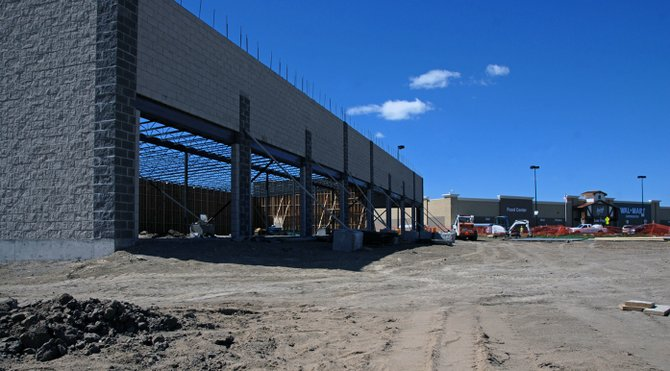 Tebo Center, located on Lot 6 of the Walmart Subdivision at 1830 W. Victory Way, is slated to be the new home of Maurices women's clothing store, Alabama-based Hibbett Sports and a third tenant to be determined later. Developer Stephen Tebo said he is currently courting three potential tenants, but would not divulge their identities without a signed lease.