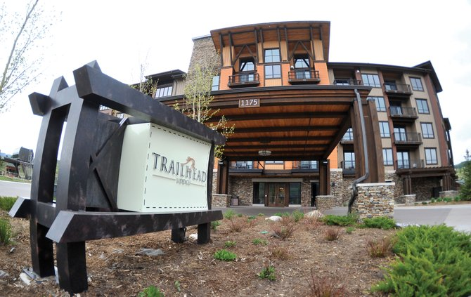 During Sunday's auction, 23 winning bids were taken for unsold Trailhead Lodge units. The number of units actually sold at auction will not be known until the deals formally close.