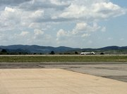 Firefighters responded to Steamboat Springs Airport for a small plane that flipped over. Preliminary word is no serious injuries.