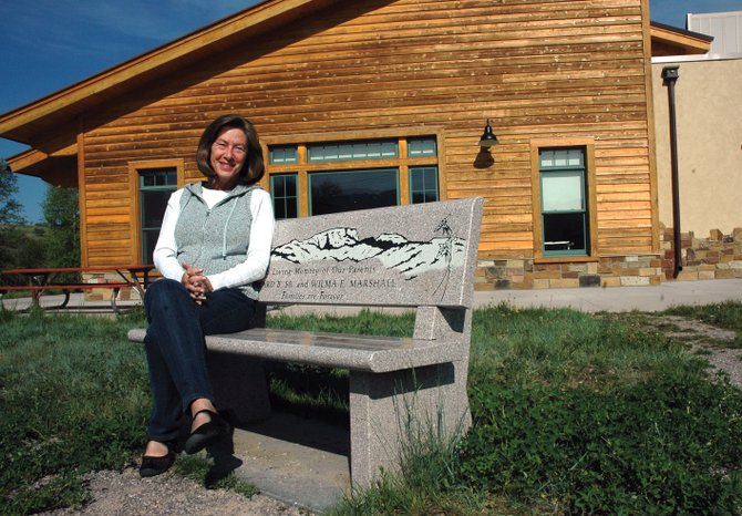 Barbara Bronner, pictured outside the Steamboat Springs Community Center, was honored May 11 for her work with Routt County seniors. She was named 2012 Friend of the Seniors by the Routt County Council on Aging.