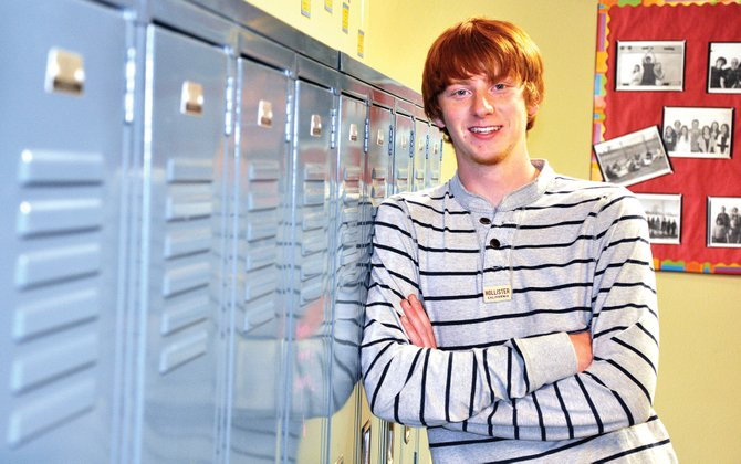 Matthew Jones is Heritage Christian School's valedictorian. He and six of his classmates will graduate Sunday afternoon.