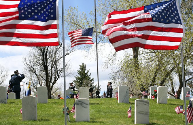 Moffat County residents will have several chances to pay their respects to fallen veterans this Memorial Day weekend, starting today at the Grand Olde West Days parade and culminating Monday with ceremonies planned at both Craig and Maybell cemeteries.