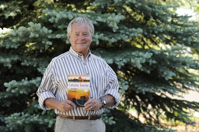 "John Grassby, a lawyer in Steamboat Springs, recently published his first novel, ""Calcutta Sunrise."" He will be hosting a reading and book signing at 6 p.m. Thursday at Off the Beaten Path Bookstore."