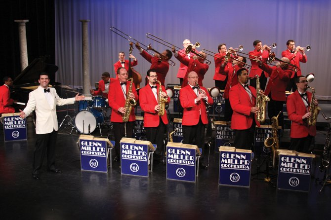 The Glenn Miller Orchestra, led by Nick Hilscher and featuring Steamboat Springs native Kenyon Brenner on saxophone, will perform Friday in the Steamboat Springs High School auditorium. Tickets are $25 and are available at All That Jazz, First String Music and from Steamboat Springs High School band students.