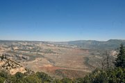The view from the Harpers Corner overlook on the Moffat County side of Dinosaur National Monument.