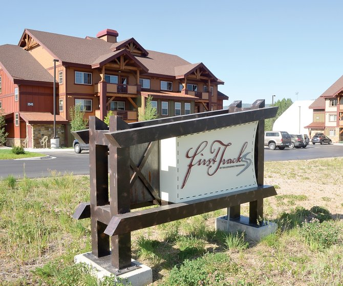 The first two condo buildings at First Tracks at Wildhorse Meadows were built to satisfy affordable housing requirements in the past decade. However, they never found that market because of changing economics and were released by the city to be sold at market rates. Now, a very tentative plan is being explored to use tax credits to allow two new buildings in the previously approved second phase to be built as affordable rental apartments, including studio and one-bedroom units, which are in short supply.