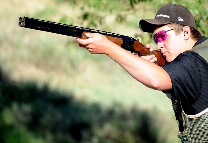 Steamboat Springs 15-year old Logan Bankard travels this week to compete in the 2012 National 4-H Shooting Sports Invitational in Grand Island, Neb. Bankard said he's been shooting for about five years.