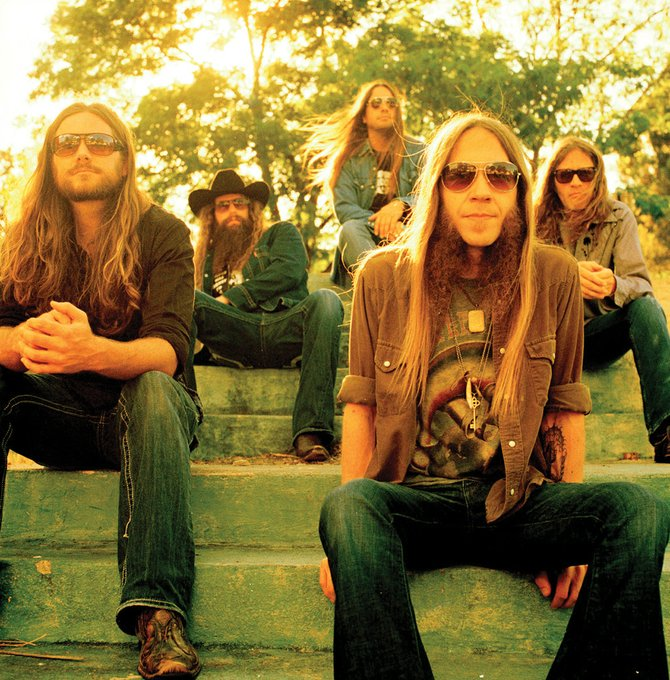 Blackberry Smoke, a Southern rock band fresh off a tour with Eric Church, will play at 9:30 p.m. Friday at Ghost Ranch. The show costs $10.