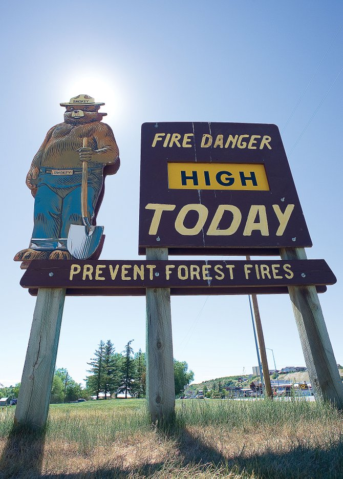 Officials say the fire conditions in Routt County are the most severe they've seen in years. The conditions have led state officials to enact even tighter fire restrictions.