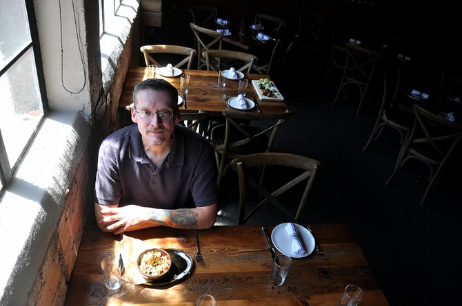 The Laundry's first executive chef Chris Randall is a cooking veteran.