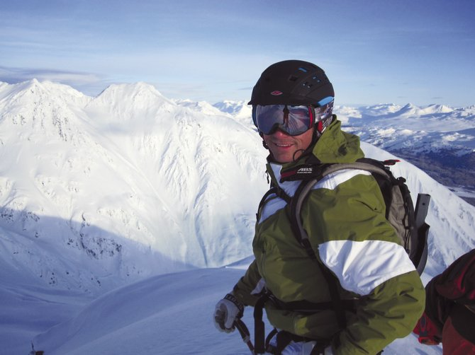 Longtime local and former U.S. Ski Team member David Lamb wont soon forget his first heli-skiing trip to Alaska this spring.