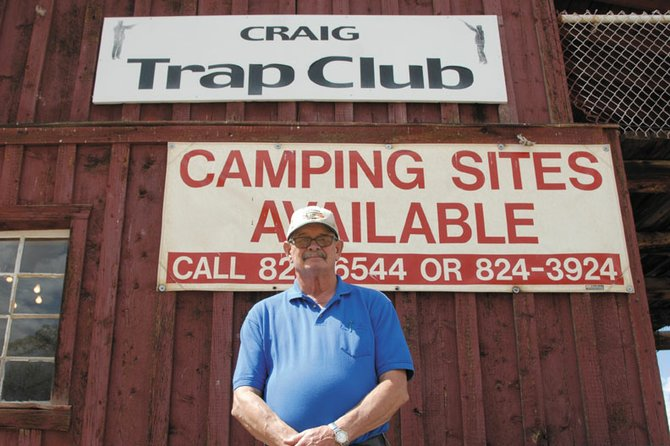Craig resident Dick King stands outside the Craig Trap Club, where he has been a member for almost 30 years. King was recently inducted to the Colorado State Trapshooting Association Hall of Fame. He is the second person from Moffat County to make the CSTA Hall of Fame.