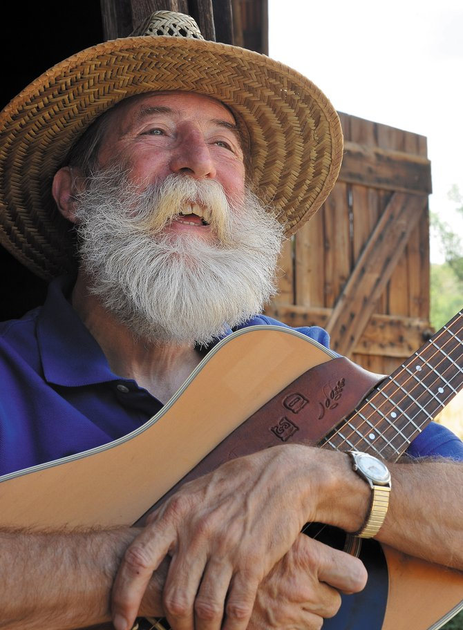 Contemporary front-porch musician Jed Clampit will perform at 8:30 p.m. Friday and Saturday at Hahn's Peak Roadhouse in North Routt County.