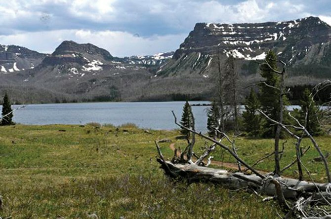 Called the Cradle of Wilderness, Trappers Lake is credited for inspiring the Wilderness Act of 1964. The lake has the highest concentration of Colorado River cutthroats on Earth. 