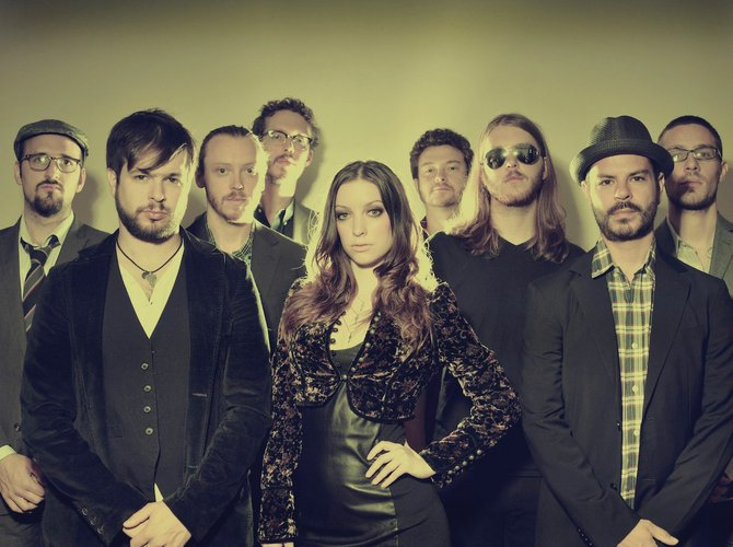 Arleigh Kincheloe, her brother, cousin and six more musicians make up Sister Sparrow & the Dirty Birds, a soul band from New York. They play the Strings Music Pavilion at 8 p.m. Saturday, and tickets are $25.