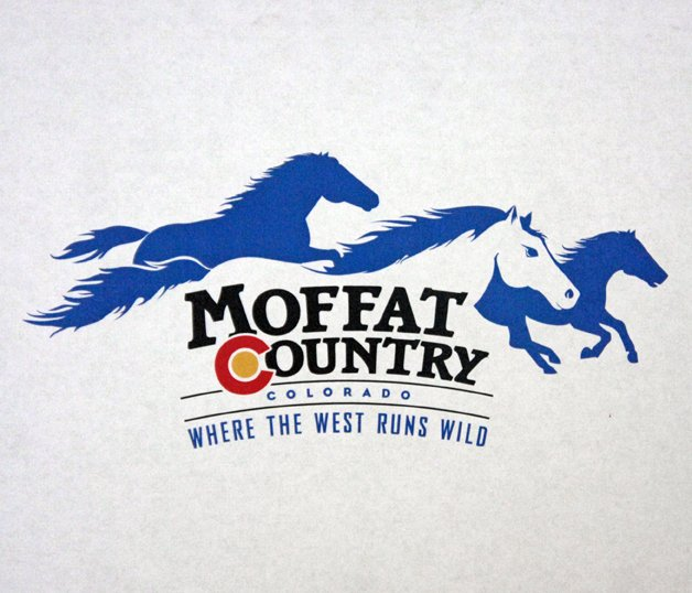 Pati Martinez, creative director for Hill Aevium, a brand consulting firm with offices in Denver and Edwards, said the logo's play off county and country was inspired by images associated with Moffat County's cowboy culture.