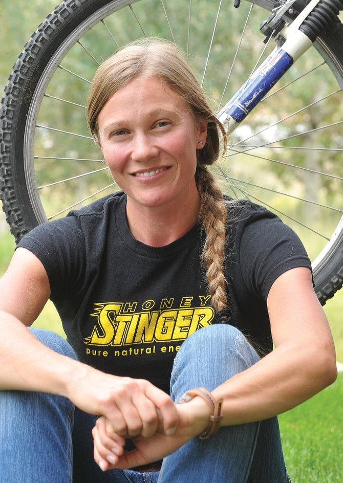 Hannah Williams will compete in the Steamboat Stinger 50-mile mountain bike race Saturday. Then on Sunday, she'll wake up and compete in the Steamboat Stinger Marathon.