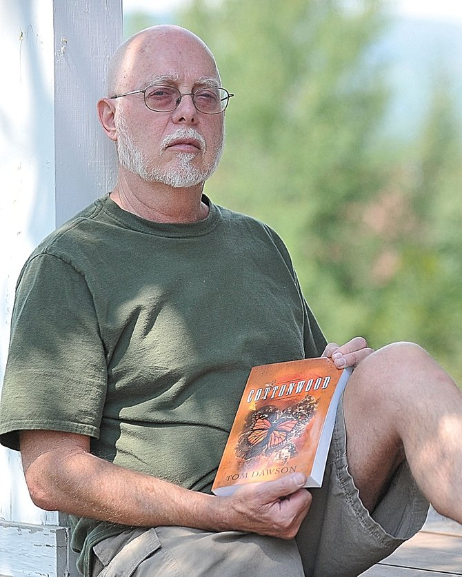 "Tony Crawford is one of 30 authors appearing at Written Art, a festival of local authors taking place at Bud Werner Memorial Library. Crawford, a Vietnam veteran, wrote a fictitious memoir reflecting on ""early old age."""