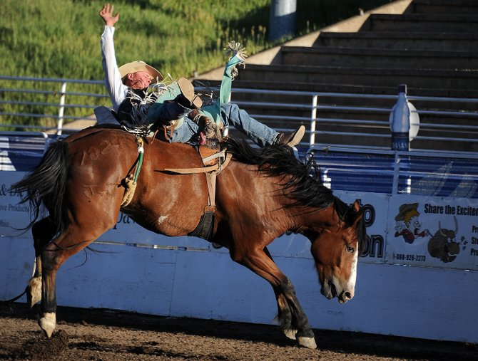 The Steamboat Springs Pro Rodeo series returns this weekend to round out its summer series with performances at 7:30 p.m. Friday and Saturday.