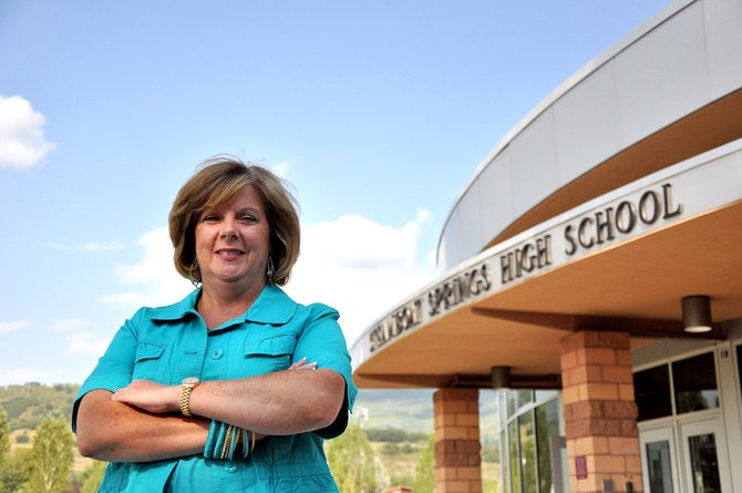 "Susan McIntosh was honored Monday night as the Steamboat Springs School District's ""Friend of Education"" for the 2011-2012 school year. Since she moved to Steamboat in 1998 with her family, McIntosh has volunteered for the school district in many capacities, including in the front office of Steamboat Springs High School."