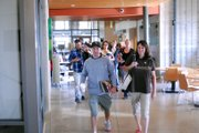 A crowd of new students walked down the halls of the new Colorado Northwestern Community College Craig campus. The local campus, along with the Rangely campus, hosted new student orientation Saturday.