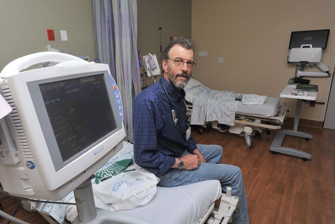 Dr. Mark McCaulley will receive the Health Care Professional Award at Friday's Doc Willett Health Care Heritage Awards.
