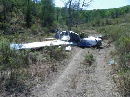 Routt County Sheriff's Office deputies on Saturday were investigating a plane crash about three miles north of the Camilletti Ranch house at the end of Routt County Road 48 near Milner.