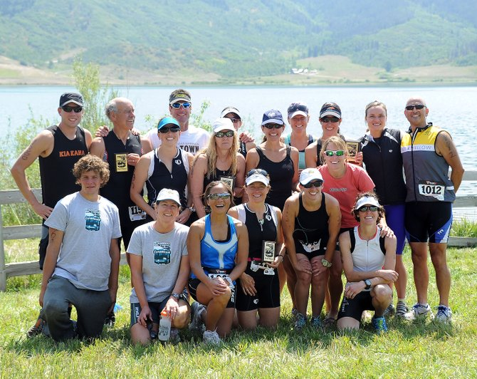 The Old Town Hot Springs Triathlon Club wrapped up its second season last weekend, with multiple athletes earning top finishes at the Steamboat Triathlon.