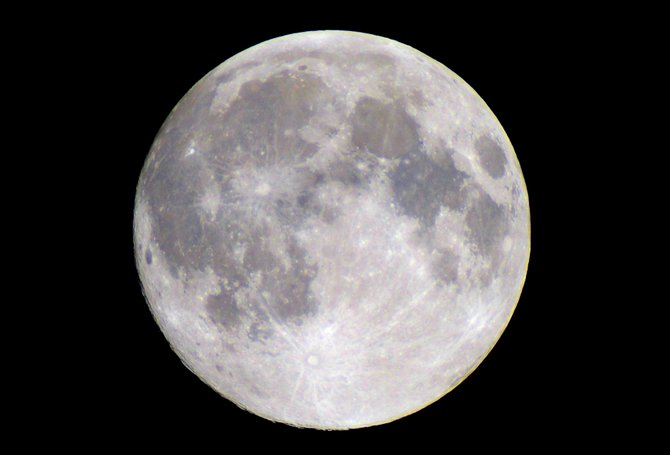 Blue moons only occur, well, once in a blue moon, which happens to be Friday night. But don't expect the lunar orb actually to turn blue. It simply means that Friday's full moon will be the second one this month — an unusual quirk of the calendar.