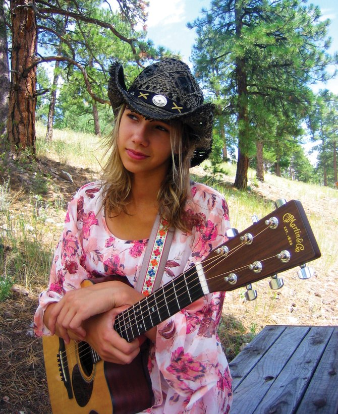 Part-time Steamboat resident Bella Hudson, 13, will perform at 6 p.m. Friday at Sweetwater Grill.