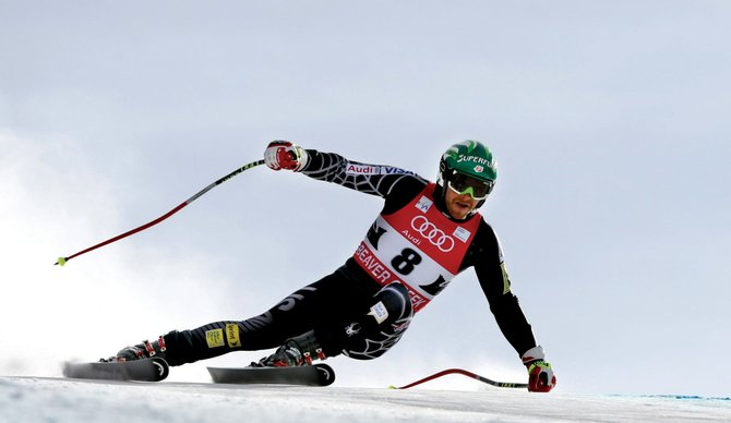 U.S Ski Team member Bode Miller leans into a turn during the 2009 Birds of Prey World Cup downhill race at Beaver Creek. Skiing fans will have two chances this year to catch World Cup events in Colorado on TV.