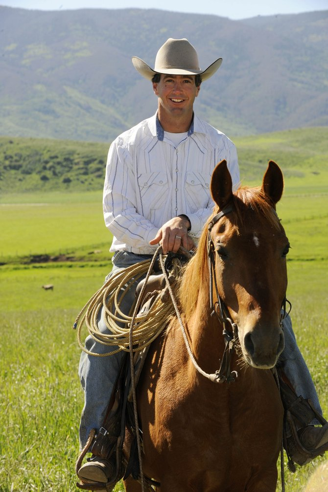 Jason Patrick, ranch manager and trainer at Whispering Willows Ranch, had a strong showing at the Colorado State Fair in cow horse events. This week, he will compete for the third time at the National Reined Cow Horse Association futurity event in Reno, Nev.