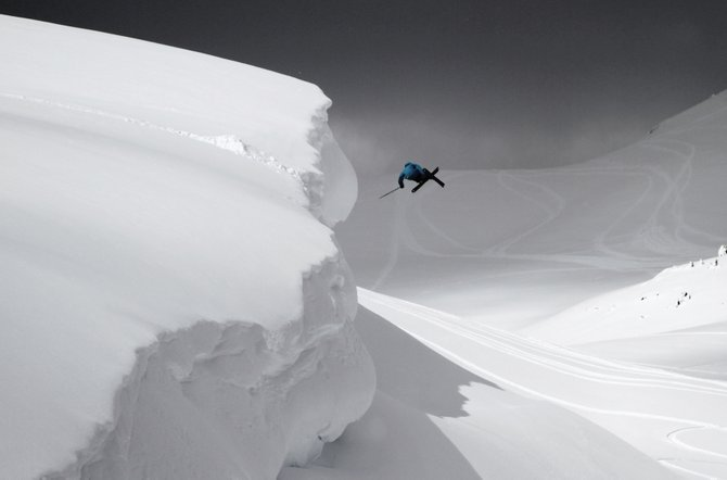 Skier Wiley Miller catches air while filming for this year&#39;s Level One Productions ski film &quot;Sunny.&quot; The movie will hold its Steamboat premiere at 8 p.m. Friday at The Tap House Sports Grill. The cost is $10.