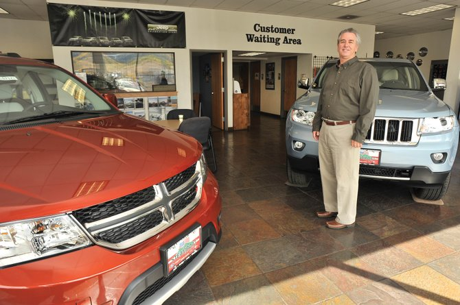 John Centner has returned to his previous role as general manager of Steamboat Motors in Steamboat Springs.
