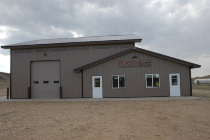 Plasti-Size, a new business owned by Elwood Martinson, opened in Craig over the summer. Located at 37 Pronghorn Drive, Plasti-Size specializes in signs.
