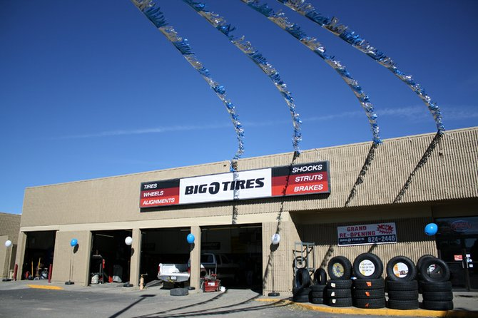 Big O Tires, located at 1111 West Victory Way in Centennial Mall, recently came under new ownership. Owner Travis Wondra says business has been very good in their first month.