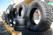 Numerous tires sit outside Big O Tires&#39; location at 1111 West Victory Way in Centennial Mall. Since coming under new ownership, Travis Wondra says he is happy with the success of the business in a competitive market.