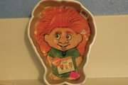 This troll-shaped baking pan is one of many unique items Sacks Yampa Avenue owner Peggy Satterwhite has found in storage units she has won at auctions. It is now available for sale, with other items, in the store.