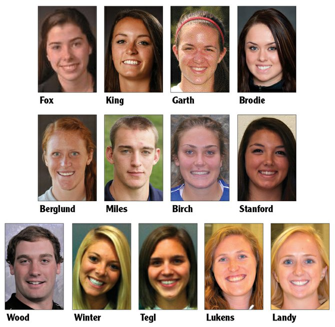 Catching up with local collegiate athletes for Oct. 23