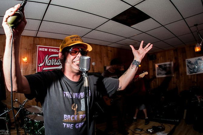 Steamboat's Keith Thibodeau, also known as El Doctor of the local punk rock band the Amputators, performs in New Hampshire. Coming off an East Coast tour, the local band is releasing its newest album at a Halloween-themed show Saturday at The Tap House Sports Grill.