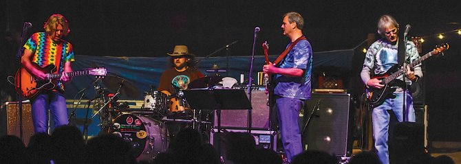 The Rocky Mountain Grateful Dead Revue returns to Ghost Ranch on Saturday, re-creating the music of the legendary jam band. The show starts at 9:30 p.m. and tickets are $10 in advance and $12 at the door.