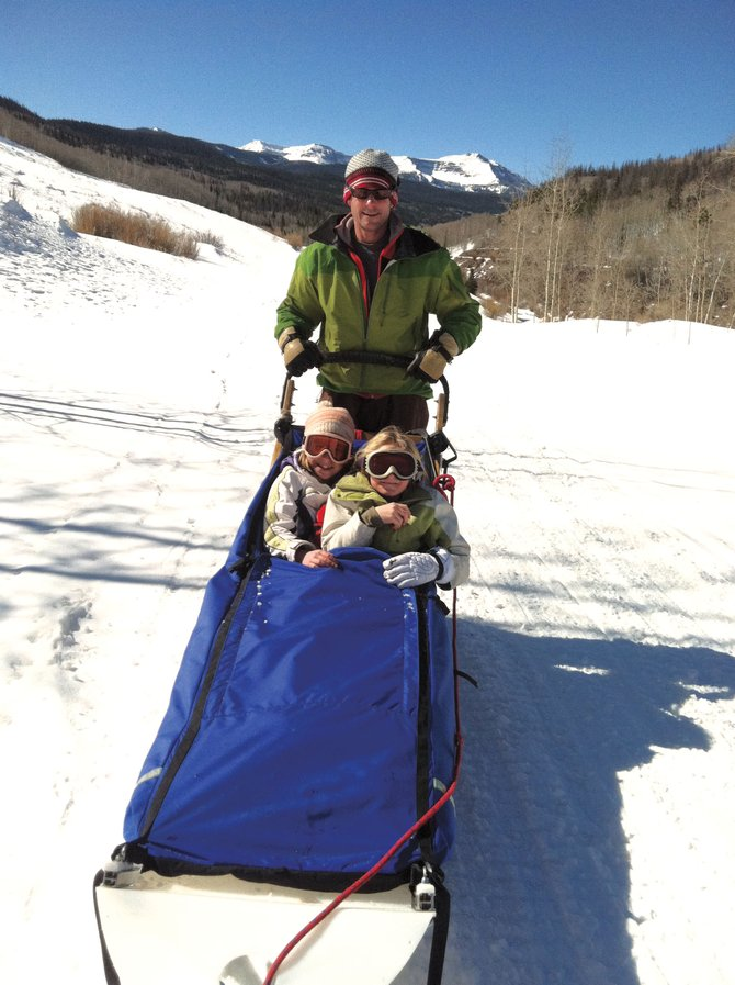 Gee, Haw, Whoa: Running dogs with Grizzle-T Dog Sledding in the Flat Tops. 