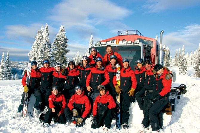 Buff Guides: The Steamboat Powdercats crew celebrating 30 years of face shots.
