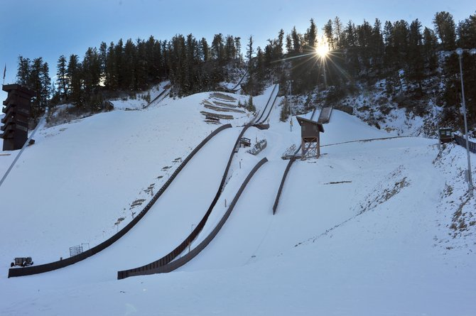 Crews recently wrapped up construction on the HS45 at Howelsen Hill. Coaches say the jump allows for year-round training in Steamboat Springs.