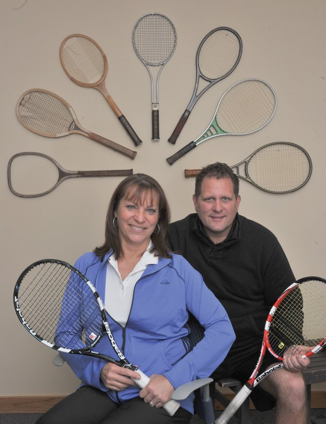 Tennis pros Loretta and Bill Conway recently joined the staff at the Tennis Center at Steamboat Springs.