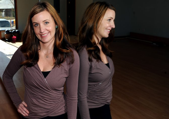 Jamie Boeri hopes to open her dance studio, Bella Barre, Dec. 1. 