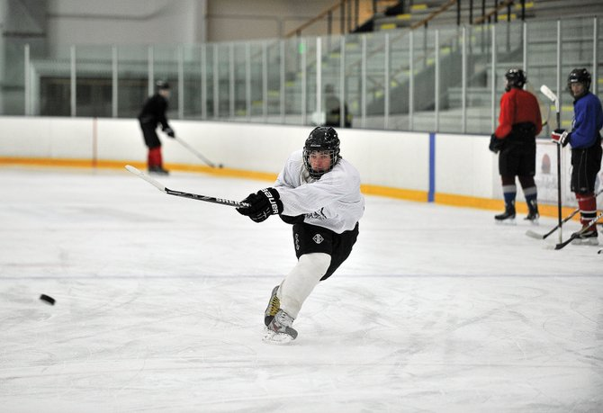 Matt Hale is expected to give this year's Steamboat Springs High School hockey team some offensive power. Hale led the team in scoring last year and returns this season when the team takes the ice at 6:30 p.m. Wednesday against Battle Mountain.
